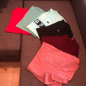Six tee shirt bundle
